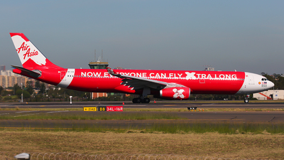 A picture of 9MXXW - Airbus A330343 - AirAsia X - © Mark H
