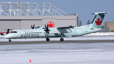 A picture of CGGNY - De Havilland Canada Dash 8400 - Air Canada - © RZ