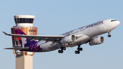 N385HA - Airbus A330-243 - Hawaiian Airlines