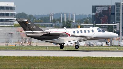 D-ILOU - Cessna 525A CitationJet CJ2 - Sylt Air