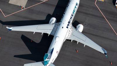 A picture of CGWSA - Boeing 7378CT - WestJet - © Derek MacPherson