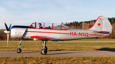 HA-NSQ - Yakovlev Yak-52 - Private