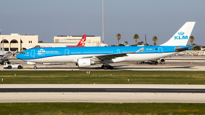 A picture of PHAKE - Airbus A330303 - KLM - © MSA130
