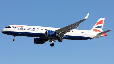 G-NEOX - Airbus A321-251NX - British Airways