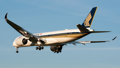 9V-SMM - Airbus A350-941 - Singapore Airlines