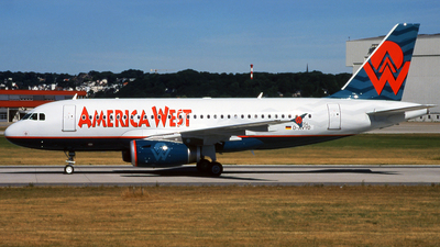 D-AVYO - Airbus A319-132 - America West Airlines