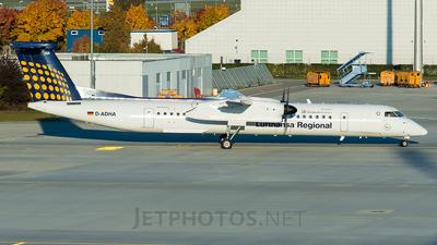 D-ADHA - Bombardier Dash 8-Q402 - Lufthansa Regional (Augsburg Airways)