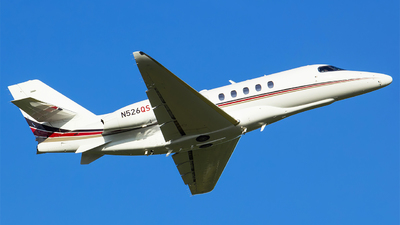 N526QS - Cessna Citation Latitude - NetJets Aviation