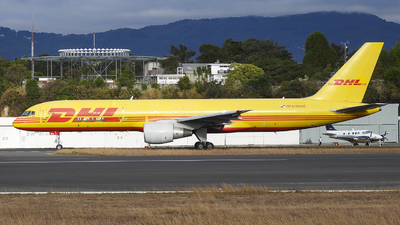 A picture of HP2110DAE - Boeing 75726D(PCF) - DHL - © Marlon Gomez Thompson