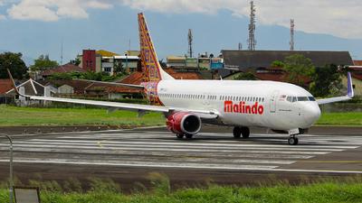 9M-LCJ - Boeing 737-8GP - Malindo Air