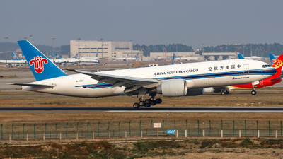 A picture of B2010 - Boeing 777F1B - China Southern Airlines - © Liu Zihao