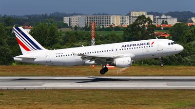 F-GKXN - Airbus A320-214 - Air France
