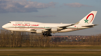 CN-RGA - Boeing 747-428 - Morocco - Government
