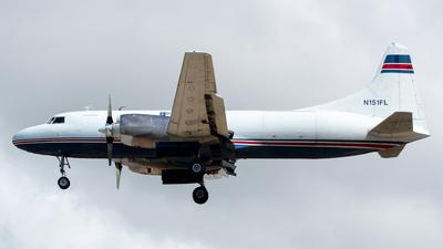 N151FL - Convair CV-580(F)(SCD) - IFL Group