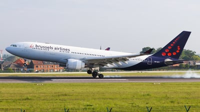 OO-SFY - Airbus A330-223 - Brussels Airlines