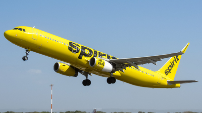 A picture of N662NK - Airbus A321231 - Spirit Airlines - © Angel Luis Reyes Herrera