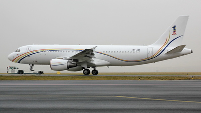 9H-AWK - Airbus A320-214(CJ) Prestige - Malaysia - Air Force