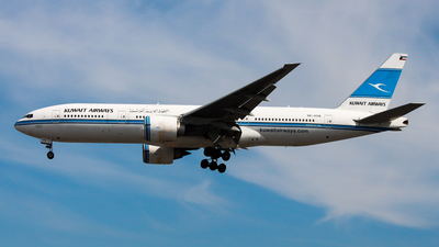 9K-AOB - Boeing 777-269(ER) - Kuwait Airways