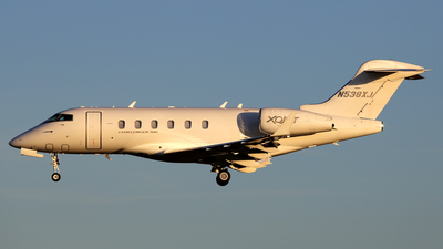N538XJ - Bombardier BD-100-1A10 Challenger 300 - Private