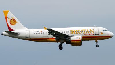 A5-BAC - Airbus A319-112 - Bhutan Airlines