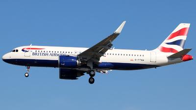 G-TTNN - Airbus A320-251N - British Airways