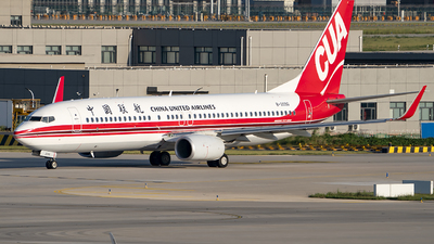 A picture of B209G - Boeing 73789P - China United Airlines - © wanglp1988