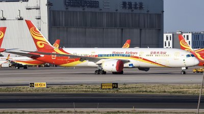 A picture of B1132 - Boeing 7879 Dreamliner - Hainan Airlines - © DZX_14572
