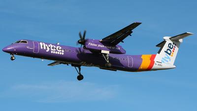 A picture of GJEDU - De Havilland Canada Dash 8400 - [4089] - © WangJL