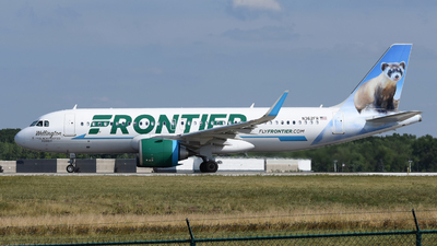 A picture of N362FR - Airbus A320251N - Frontier Airlines - © DJ Reed - OPShots Photo Team