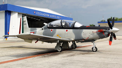 2045 - Raytheon T-6C Texan II - Mexico - Air Force