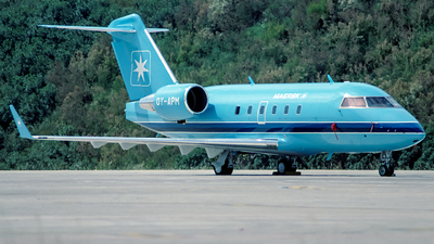 OY-APM - Bombardier CL-600-2B16 Challenger 601-3R - Maersk Air