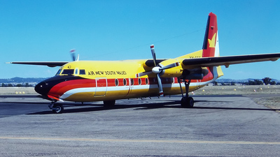 VH-FCC - Fokker F27-500F Friendship - Air New South Wales