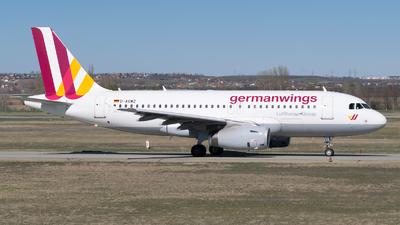 D-AGWZ - Airbus A319-132 - Germanwings