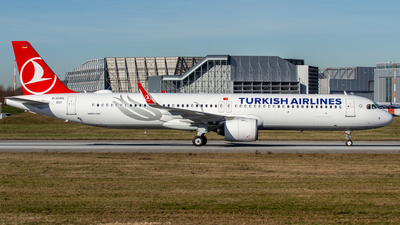 D-AYAS - Airbus A321-271NX - Turkish Airlines