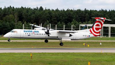 A picture of SPEQI - De Havilland Canada Dash 8400 - LOT - © Kuba Majek