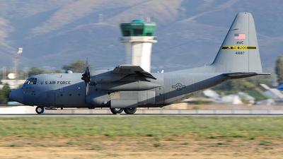 74-1687 - Lockheed C-130H Hercules - United States - US Air Force (USAF)