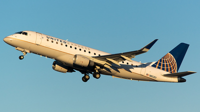 A picture of N85351 - Embraer E175LR - United Airlines - © John Newsome