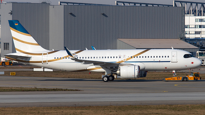 D-AUAN - Airbus A320-251NCJ - Private