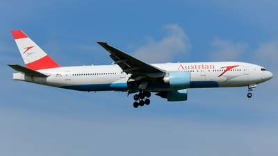 A picture of OELPB - Boeing 7772Z9(ER) - Austrian Airlines - © Tonyplaneng