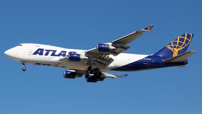 A picture of N487MC - Boeing 74745E(F) - Atlas Air - © AC3JR