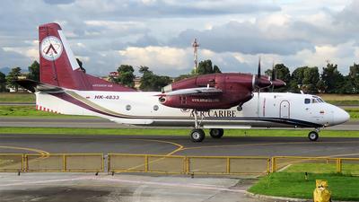 HK-4833 - Antonov An-32B - Aer Caribe