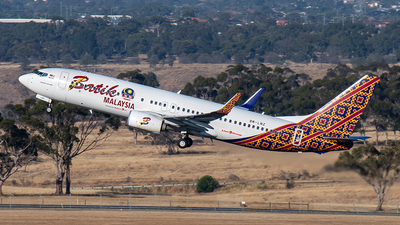 A picture of 9MLNZ - Boeing 7378GP - Batik Air Malaysia - © JASONChow