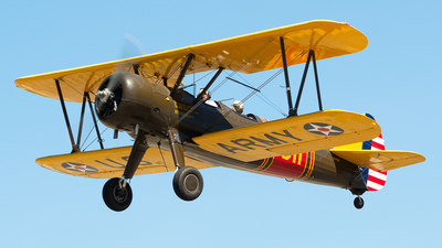 VH-PJS - Boeing A75N1 Stearman - Private