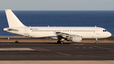 9A-SLA - Airbus A320-214 - Limitless Airways