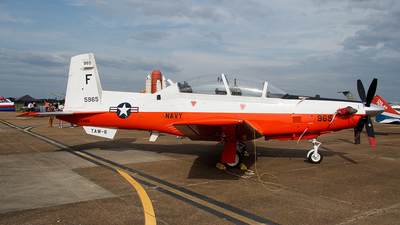 165965 - Raytheon T-6A Texan II - United States - US Navy (USN)