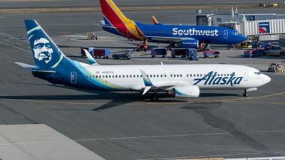 N597AS - Boeing 737-890 - Alaska Airlines