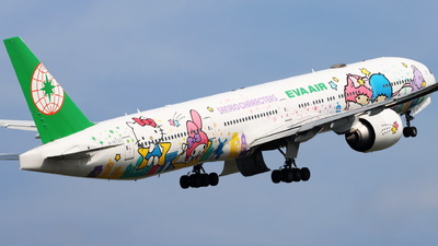 A picture of B16722 - Boeing 77736N(ER) - EVA Air - © CHA CHA