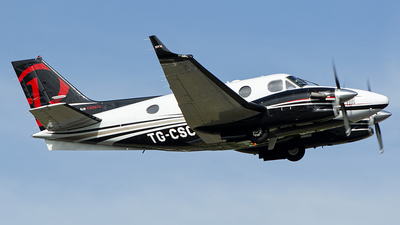 TG-CSC - Beechcraft C90GTx King Air - Private