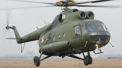 655 - Mil Mi-8T Hip - Poland - Army
