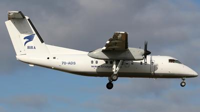A picture of 7OADS - De Havilland Canada Dash 8100 -  - © David Bracci